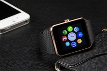 Smart Watch phone GT08 Clock Sync Notifier Support Sim Card Bluetooth Connectivity Apple iphone Android Phone Smartwatch Watch