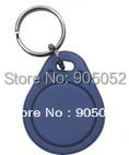 free shipping Sample ID Keychain/EM Tag/ Proximity Tag with 125khz frequency for Time attendance and Access control(China (Mainland))