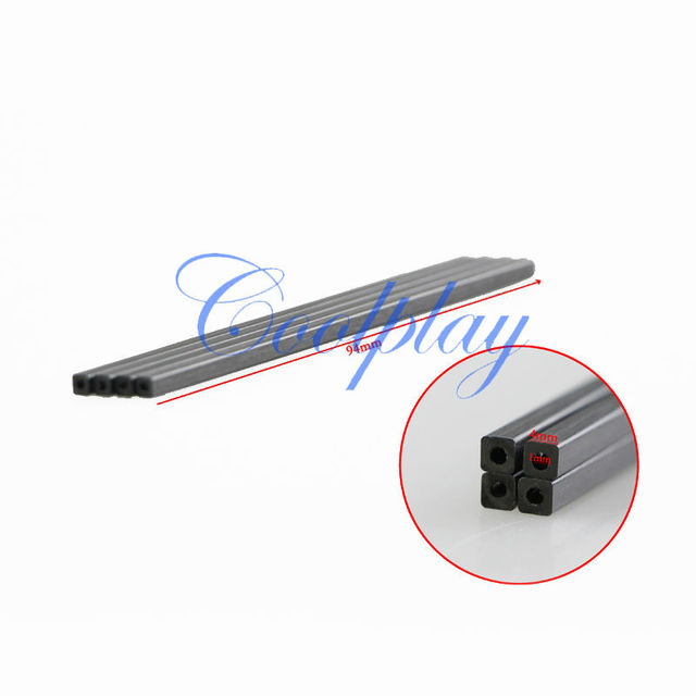 Free Shipping In Stock  10pcs/Lots Carbon fiber tube  Spare Parts  for Syma X1  4CH 2.4G  RC 4 axis Vehicle Quadcopter