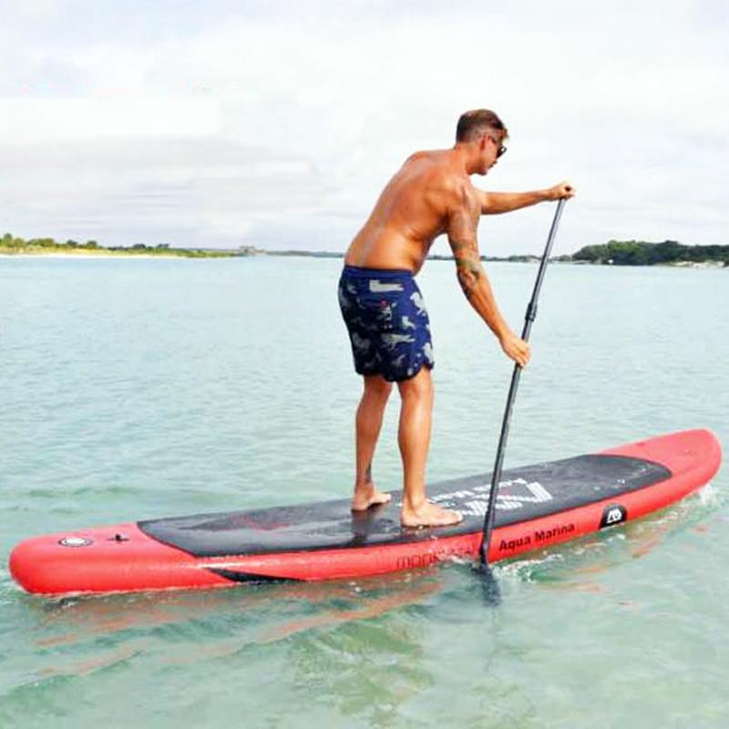 365*82*15cm AQUA MARINA MONSTER inflatable sup board stand up paddle board surf board surfboard,kayak,new version of SPK4(China (Mainland))