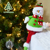 Indoor Christmas big Table Decoration long-leg Santa Claus Snowman Deer