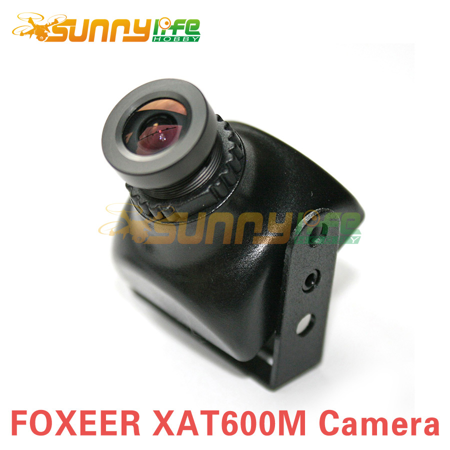 Foxeer XAT600M HS1177 600TVL CCD Camera Mini FPV Cam with 2.8mm Lens Plastic Case for Aerial Photography(China (Mainland))