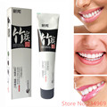 2017New Bamboo Charcoal Toothpaste Vanilla Green Salt Mint Scent Teeth Whitening Black Toothpaste Dentifrice Charbon Bambou