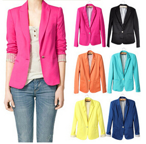 Женский пиджак Blazer 2015 auturn feminino women