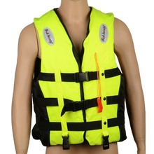 Adult Life Vest Jacket Water Safety Drifting PFD Foam Men Waterproof Swimming Life Jacket with Whistle for Adults XXXL 24005881(China (Mainland))