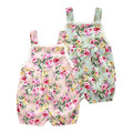 Baby Lace Rompers Summer 2016 Cute Pink Carters Baby Girl Rompers Sleeveless Cotton Jumpsuit New Born