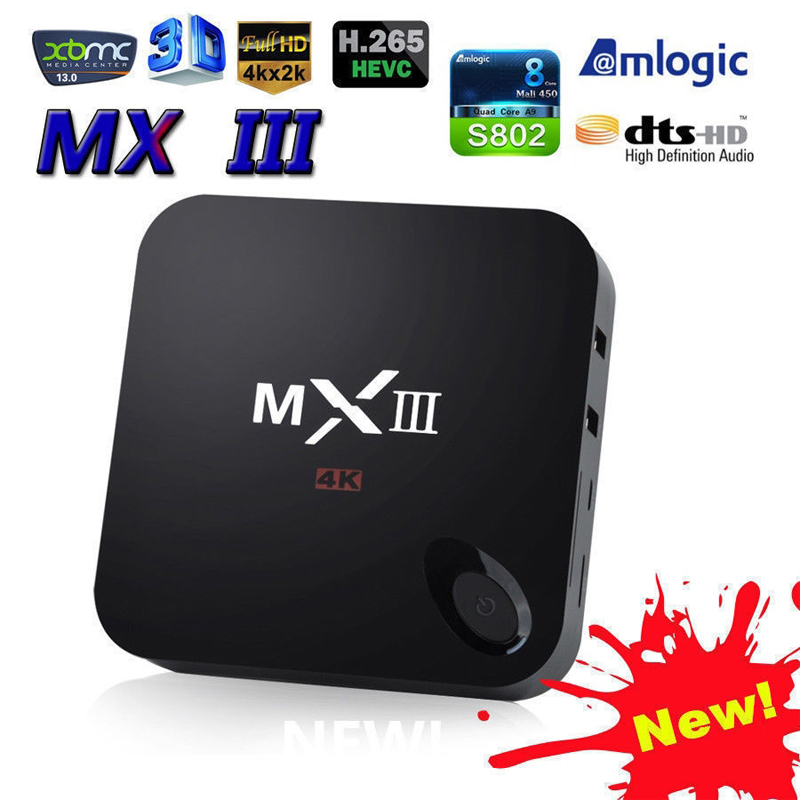 XBMC Quad Core RAM 8GB ROM Full HD 1080P Latest KODI 14.2 Full HD TV Box Android android smart set box tv(China (Mainland))