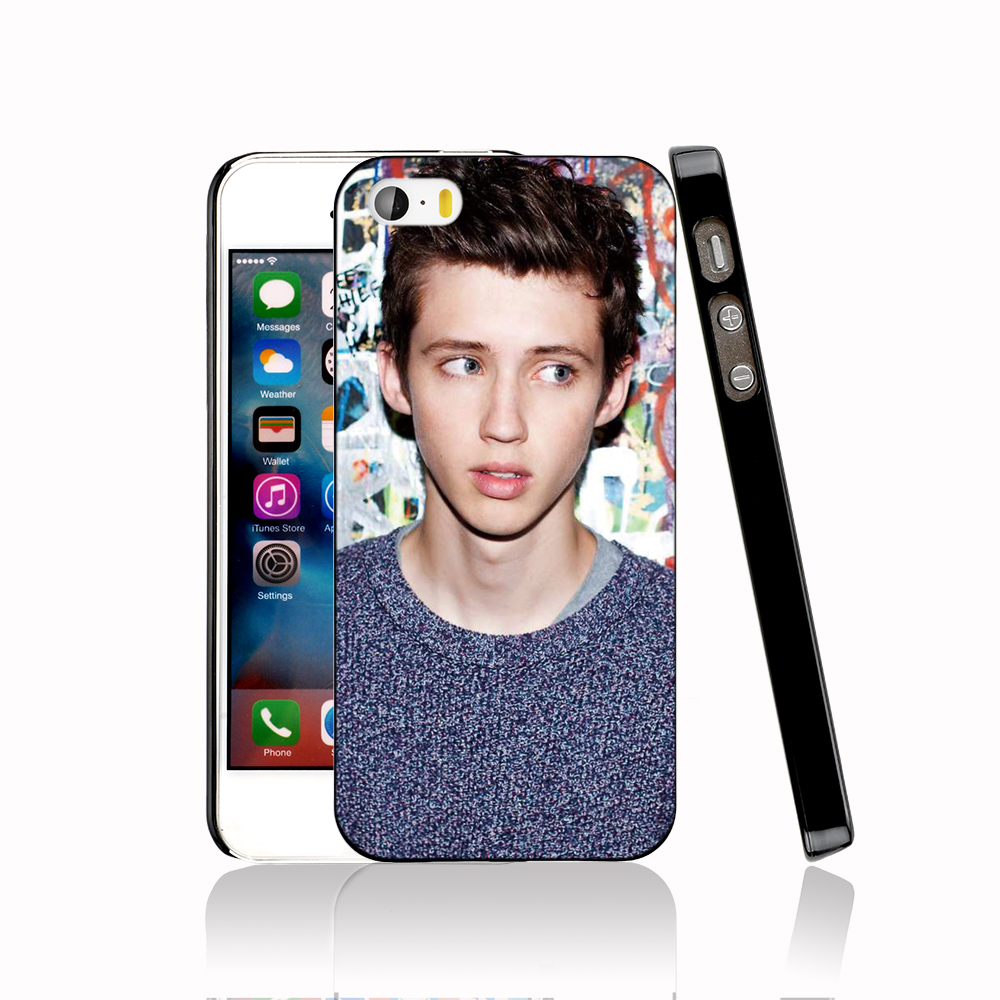 13963 Troye Sivan 10 protective Cover cell phone Case for iPhone 4 4S 5 5S 5C SE 6 6S Plus 6SPlus(China (Mainland))