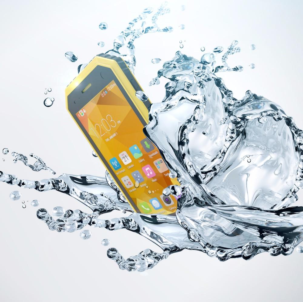 Kenxinda PROOFINGS W6 IP68 Ruggedphone 4.5inch Android 5.1 1GB 8GB Rugged Smartphone