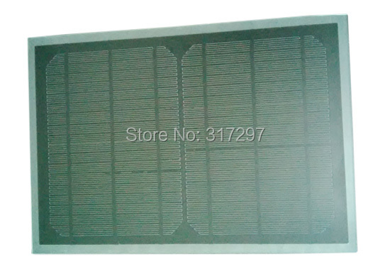 10W 18V monocrystalline solar panel pet laminated light weight charging 12V battery DIY use for home/ lighting /camping(China (Mainland))