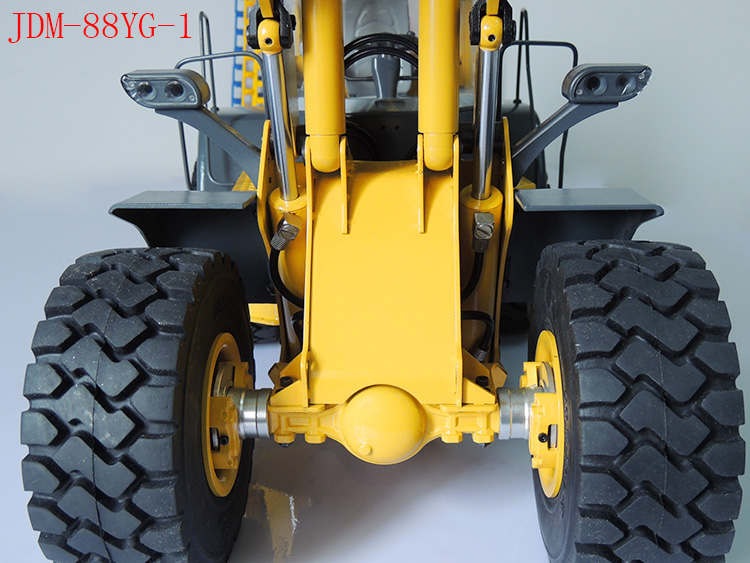 Hydraulic Lift Scale : Scale rc wd tamiya engineering truck loader model