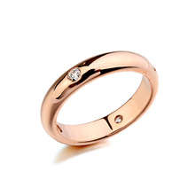 Real Italina Rigant Genuine Austria Crystal 18K gold Plated Rings for Women Enviromental Anti Allergies   # RA11508r