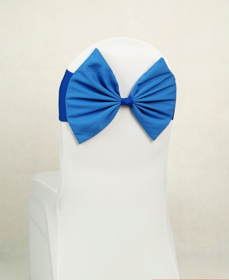 royal blue butterfly bow tie