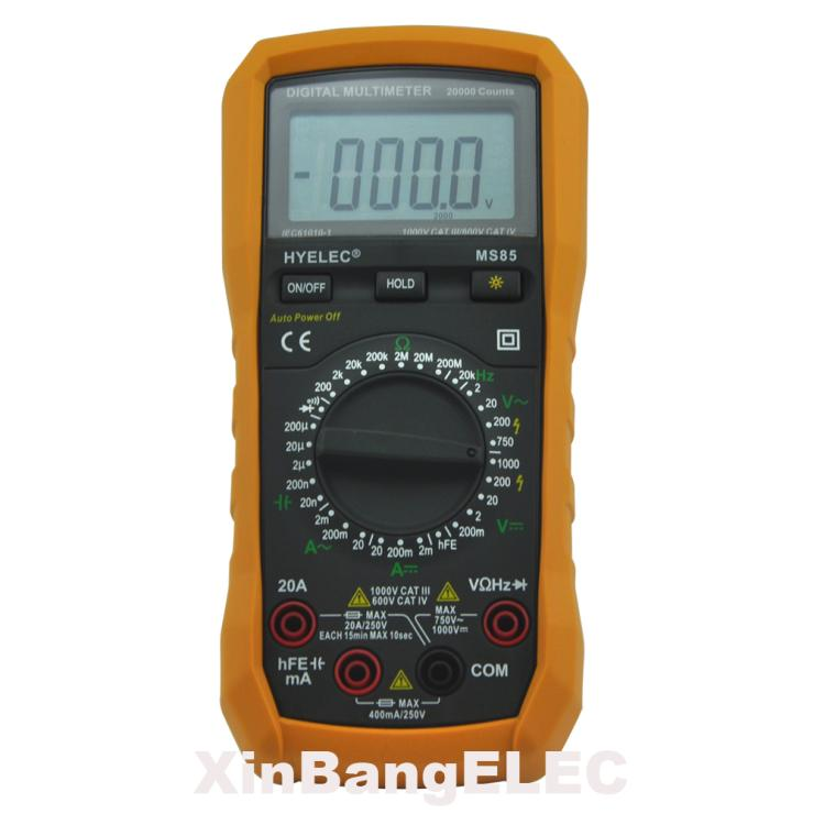 Digital Multimeter AC/DC Resistance Capacitance Frequency Tester<br><br>Aliexpress