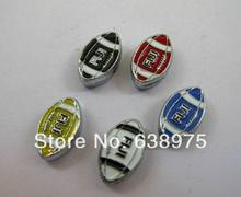 NEW Hotsales! 8mm 1pc zinc alloy and rugby slide charms fit wristand pet collar and keychain(China (Mainland))