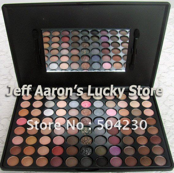 Wholesale 88 Warm Color Eyeshadow Palette Eye shadow Make Up Palette Cosmetic Matte Eye Shadow   4sets/lot