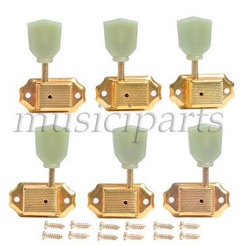 Golden 3R3L Deluxe Tulip buttonTuning Pegs For GB guitar parts  wholesale