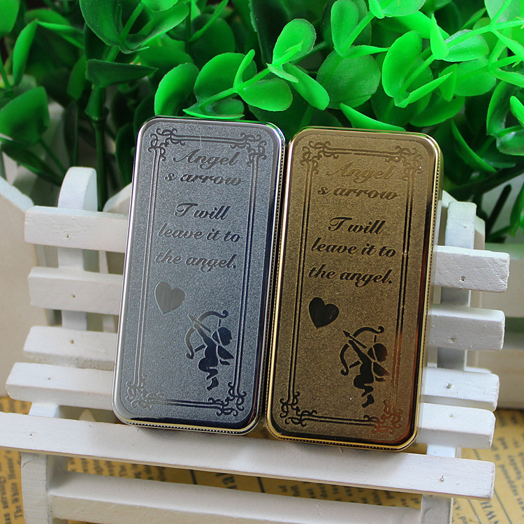 USB charging electronic cigarette lighter Cupid angels lighter metal lighters smokers cigar accessory e-lighters love gifts guys(China (Mainland))