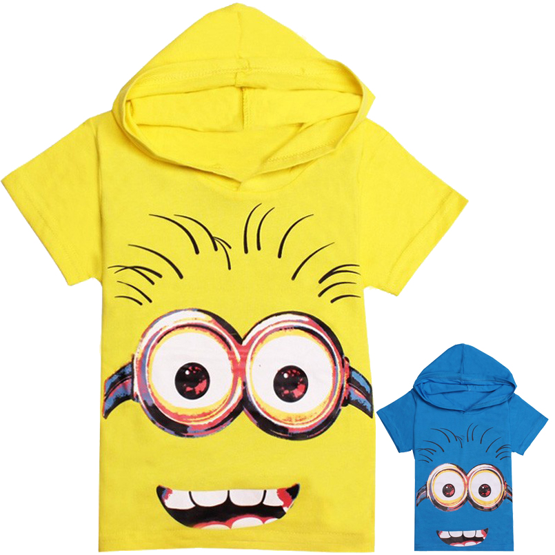New Summer Style Children Despicable Me T Shirts Boys Kids