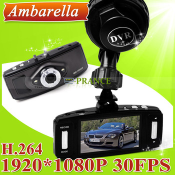 L6000 Car DVR HD 120 Degree View Angle with H.264 video Code Support G-sensor and Motion Detection