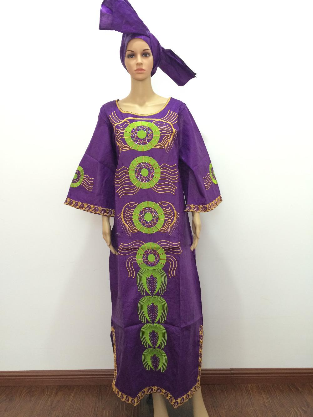 New african fashion design bazin riche