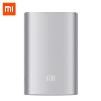 Original Xiaomi Power Bank 10000mAh Portable Charger External Battery Powerbank 18650 for Xiaomi Samsung HTC Mobile Phones