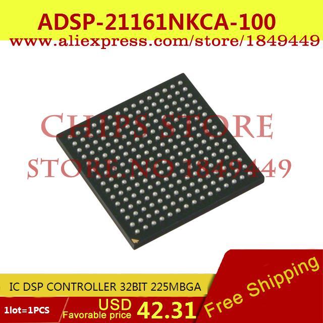 Бесплатная Доставка Diy Kit Электронные Производство ADSP-21161NKCA-100 IC КОНТРОЛЛЕР DSP 32BIT 225 MBGA 21161 ADSP-21161 1 ШТ. 10pcs adsp 2189mkst 300 new