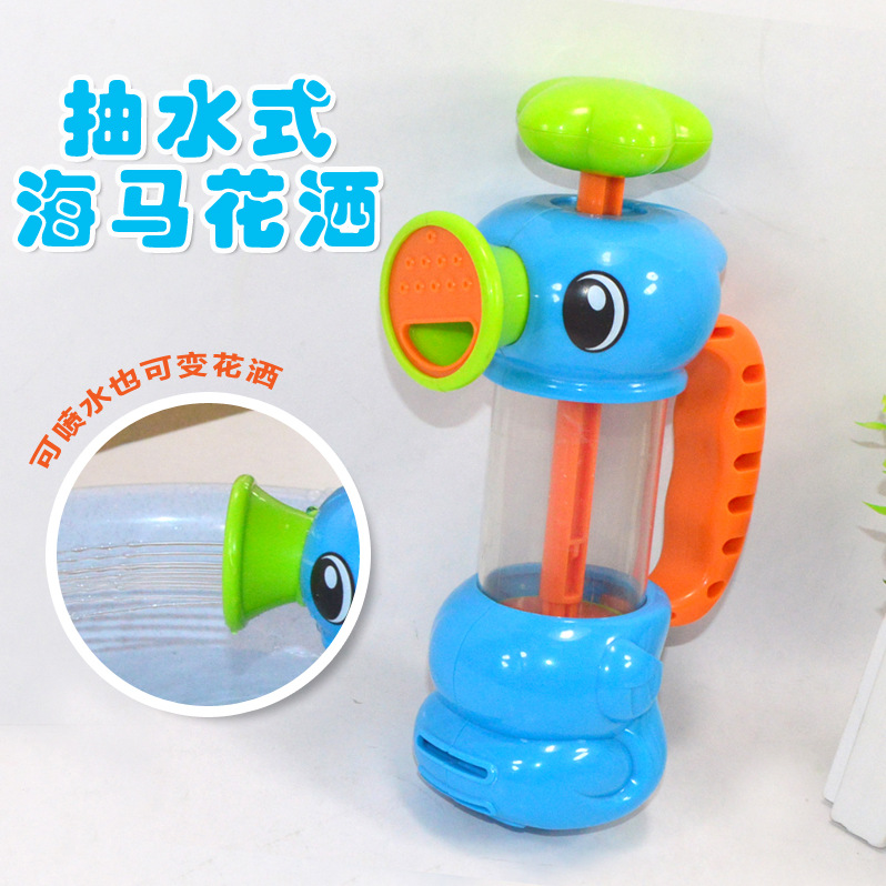 Toys hobbies classic toys bath toy baby toys hippocampus pumps tap water swimming bath toys baby bath bathroom shower<br><br>Aliexpress