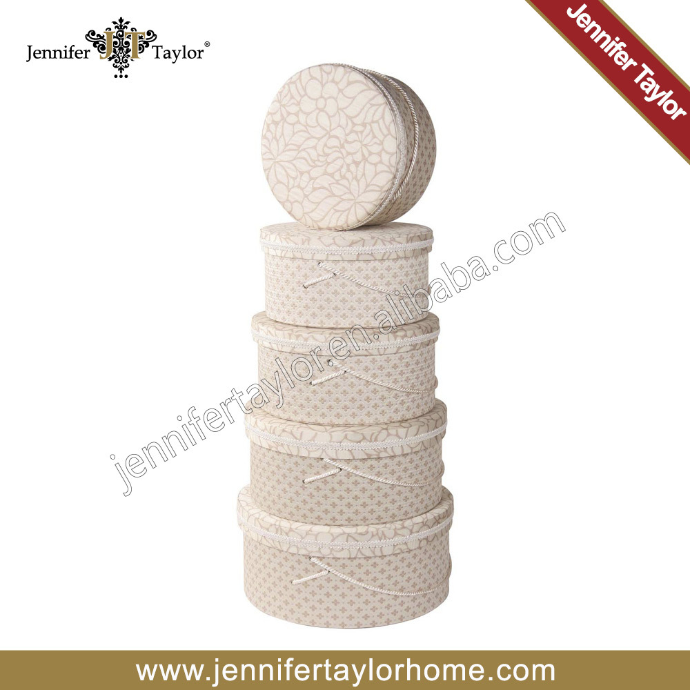 Jennifer Taylor Home Storage Fabric Hat Boxes 3128-568581(China (Mainland))