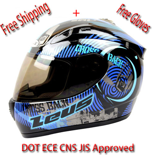 2015 New ZEUS Motorcycle Full Face Helmet Women and Men Full Face Helmet ECE DOT Motorcycle Racing Helmet ABS(China (Mainland))