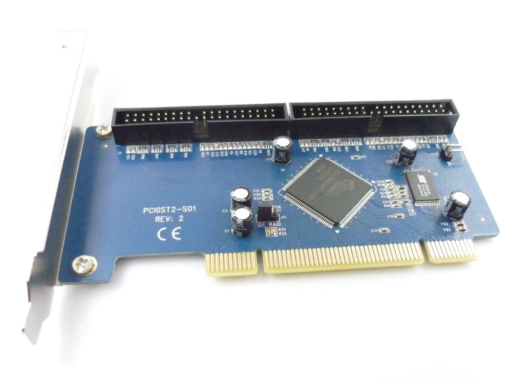 PCI to ATA 133 Controller Card PCI IDE 40pin Adapter with Low Profile Bracket(China (Mainland))