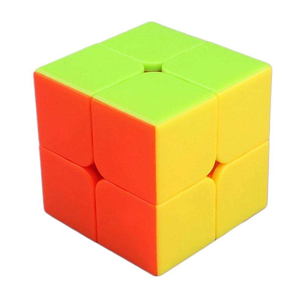 Yuxin Zhisheng Kylin 2x2x2 50mm Stickerless Magic Cube Speed Cubes Puzzle Toys For Kids(China (Mainland))