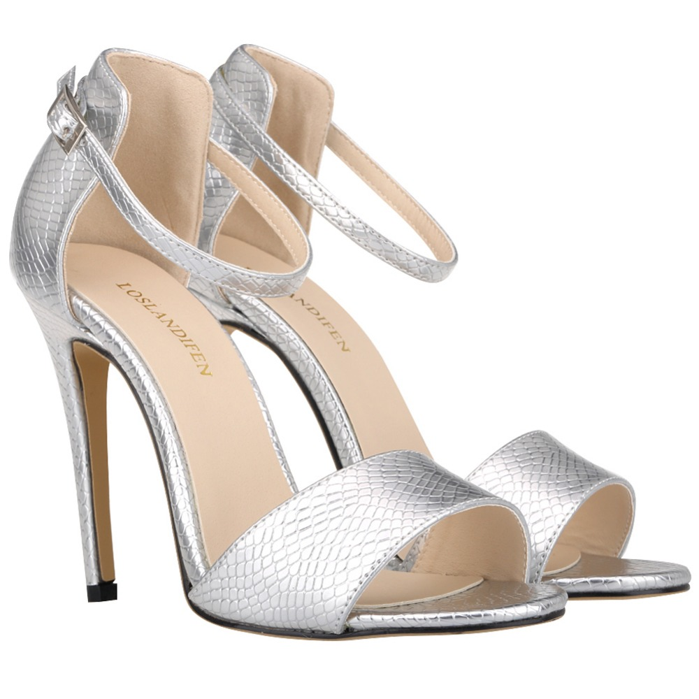 Shoes With Silver Heels