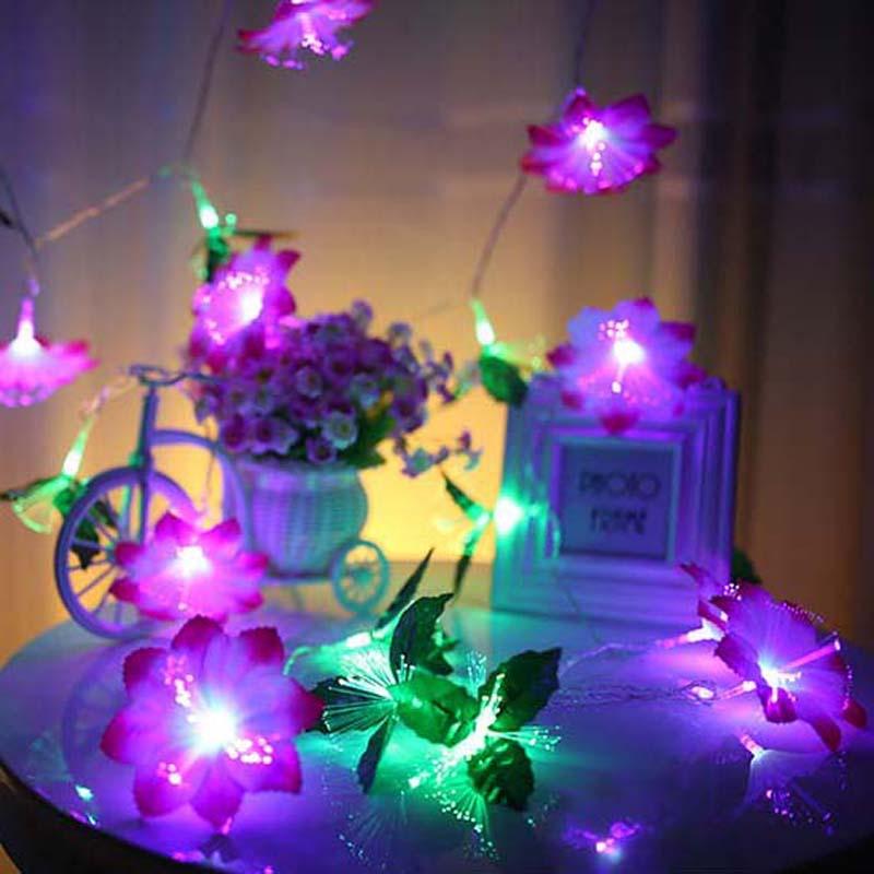 10m 80 Christmas Fairy Lights Holiday Wedding Party Decorations Optical Fiber LED String Strip Lights Luminaria Navidad 110/220V(China (Mainland))