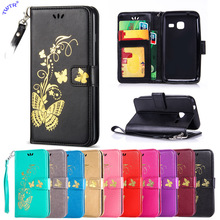 Buy Flip Case Samsung Galaxy J1 J 1 mini 105 J1mini J105 SM-J105 J105H/DS SM-J105H/DS J105F/DS SM-J105F/DS Phone Leather Cover for $4.49 in AliExpress store