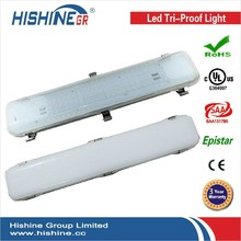 (6pcs/lot)IP65 1.2mm 50w Aluminum Reflector Batten Light used in warehouse workhousr with 3 years warranty(China (Mainland))