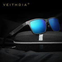 Aluminum Polarized Mens Sunglasses Mirror Sun Glasses Driving Outdoor Glasses Square Goggle Eyewear Accessories For Men 6560