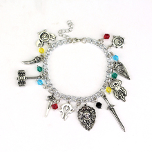Buy Game Jewelry World Warcraft Game Bracelet Legends Zelda Themed Charm Bracelets Zinc Alloy Bracelet Fans Women Men Gift for $1.83 in AliExpress store