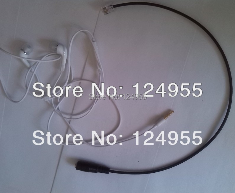 For Cisco IP 7940 7941 7960 7961 Adapter To Phone 3.5MM Headset Headphone(China (Mainland))