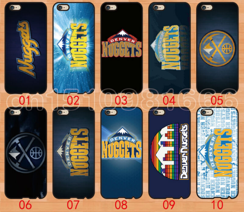 2015 wholesale new 100% brand skin denver nuggets hard back cover for iphone 5s 4s 5c 10PCS/lot(China (Mainland))