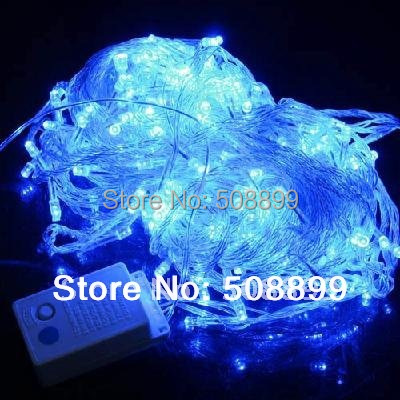 2014 New 30M 300 LED Decorative String Fairy Light Blue Christmas 220V EU Plug Facyory price