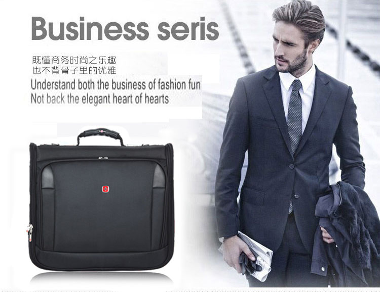 High Quality Suit Cover Garment Bag Business Manu0026#39;s Suit Carrier Long Formal Dress Suit Bag 1680D ...
