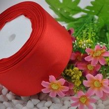 """Buy 25 Yards Red 1 1/2"""" (40mm ) satin ribbon craft/party/wedding DIY Decoration Crafts for $3.51 in AliExpress store"""