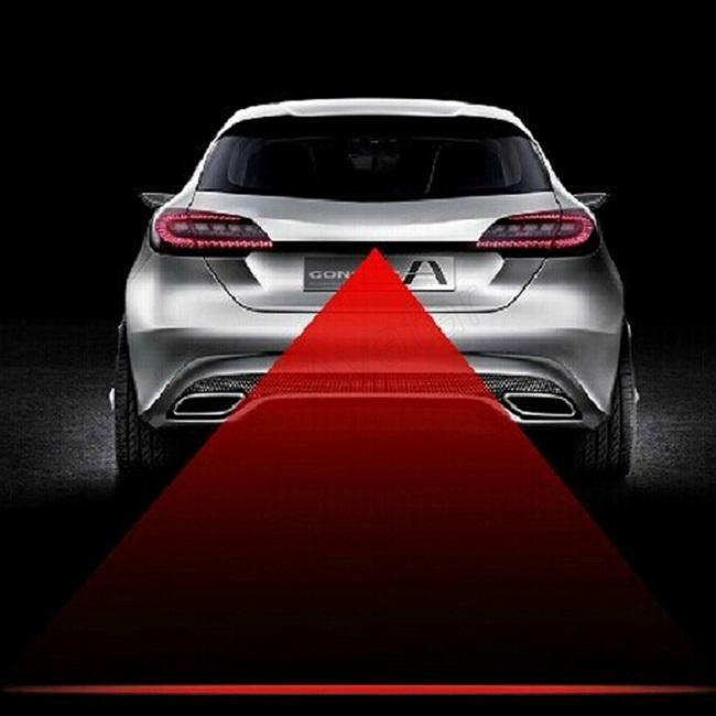 Гаджет  Anti Collision Rear-end Car Fog Light Auto Rearing Warning Light Car Laser Brake Parking Lamp  free drop shipping None Автомобили и Мотоциклы