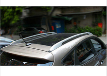 Buy Rack Roof Rails Bars Decoration Trim Covers Outlander 2013-2015 for $76.49 in AliExpress store