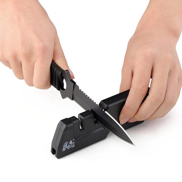 Инструмент для заточки ножей TAIDEA 3 1 T1055TDC инструмент для заточки ножей kow 2015 1 360 apex edge 304 3 bb1