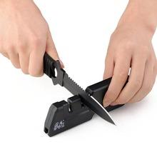 New Creative Portable Knife Scissors Sharpener 3 in 1 Pocket T1055TDC()