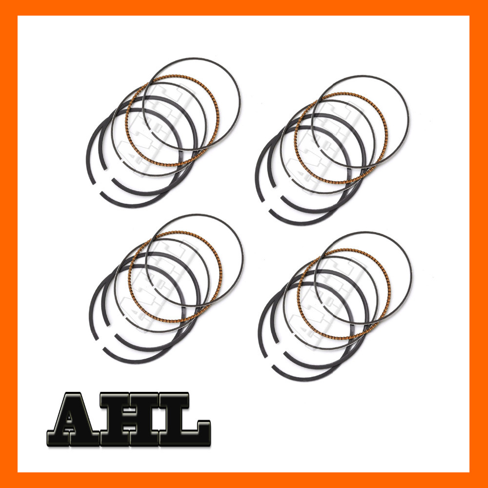 Motorcycle parts Suitable for kawasaki ZZR400 ZZR 400 piston ring high quality 4pcs STD Bore Size