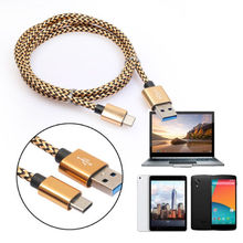 Buy Yooyour 1m USB Type C Cable Type-C Sync Data Fast Charge USB Cable Nokia N1 ZUK Z1 2 Apple Macbook Letv OnePlus 2 3 for $2.09 in AliExpress store