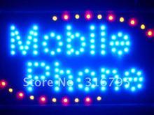 led055-b Mobile Phone Shop LED Neon Sign WhiteBoard(China (Mainland))